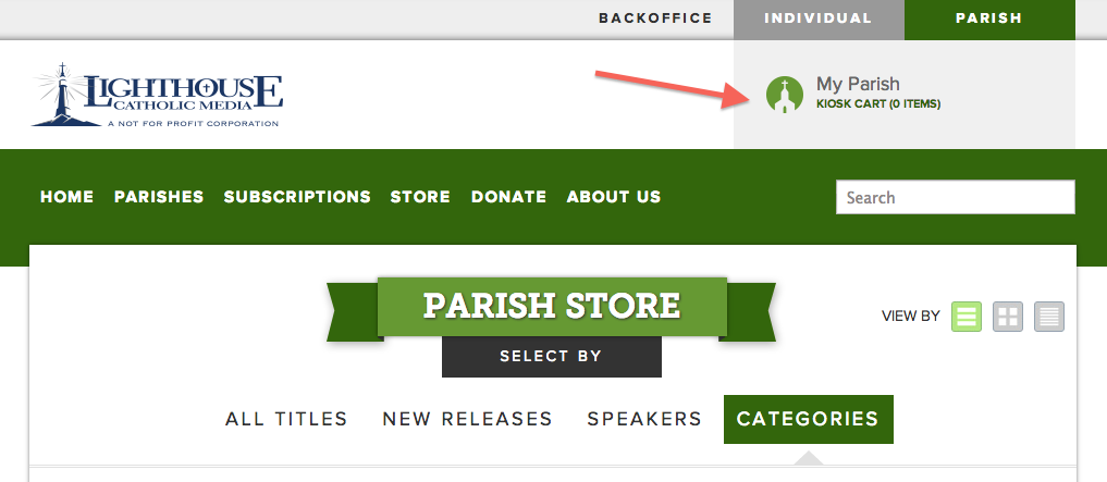 Lighthouse Catholic Media - How to creat an invoice catholic store online
